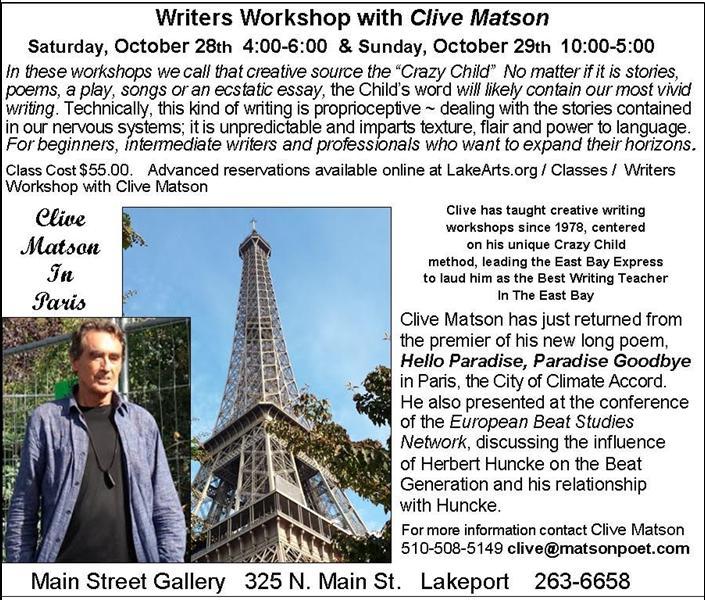 Clive Matson in Paris